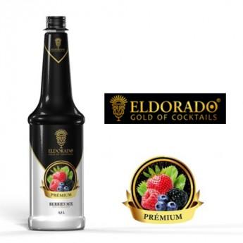 Dreňový sirup Eldorado Premium z Lesného ovocia 0.8l