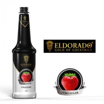 Eldorado Jahoda bez cukru 0.8l