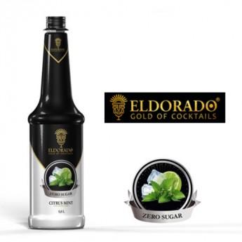 Eldorado Citrus menta zero cukormentes szirup 0.8 liter